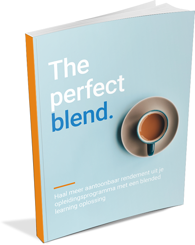 HB training whitepaper over blended learning 'The perfect blend'