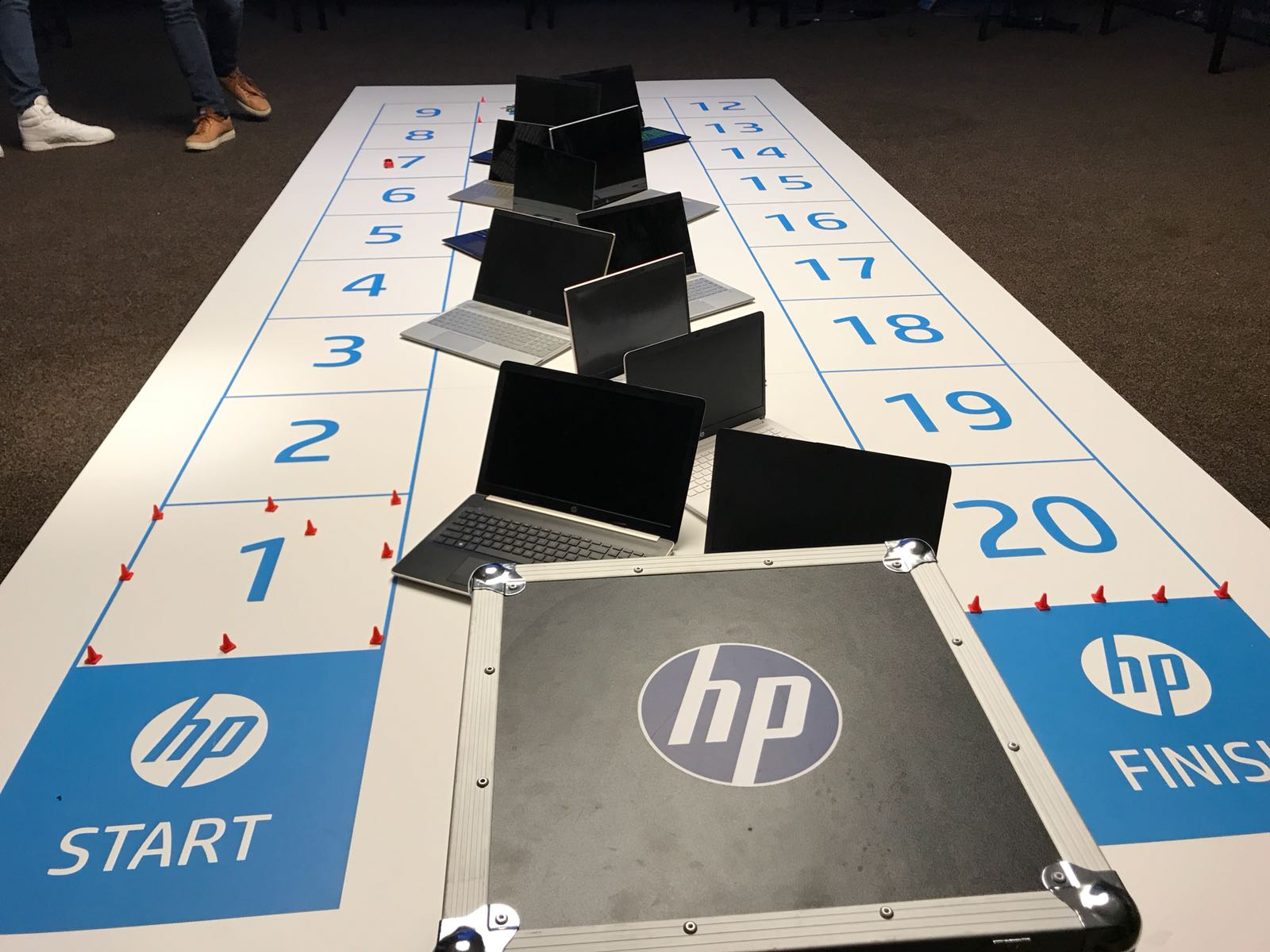HP ganzenbord training