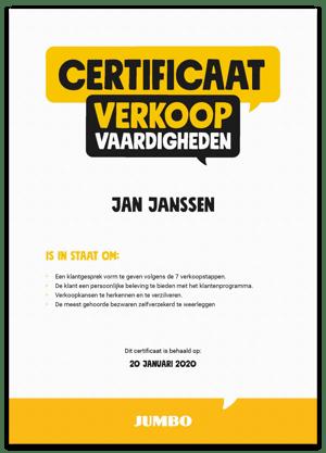 Jumbo_Certificaat